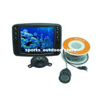 Wholesale 600 TV Line quot LCD Monitor Underwater Fish Finder Video Camera M Cable Degree Wide Angle Fishing Tackle Tool DHL H11205