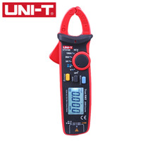 Wholesale UNI T UT210E Digital Multimeter True RMS ACDC Current Mini Clamp Meters Capacitance Tester Digital Earth Ground Multimeter