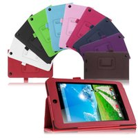 Wholesale For Acer Iconia One B1 HD quot Tablet Folio PU Leather Stand Tablet Case Cover