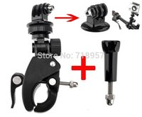 Wholesale Sports Camera Accessories Fast Assemble and Release Bike Mount Handlebar Mount Fast Clamp Mount with Adapter and Screw for Gopro