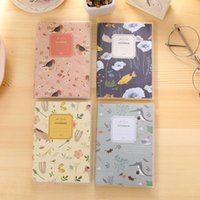 Wholesale Cute PVC Pouches Notepad Creative Small Pocket Note Book Girls Diary Book