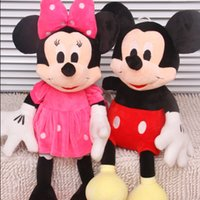 Wholesale New Piece CM CM Mini Lovely Mickey Mouse And Minnie Mouse Stuffed Soft Plush Toys Christmas Gifts