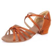 ballroom samba - Women s Kids Dance Shoes Belly Latin Dance Sneakers Modern Flamenco Samba Fabric Flat Heel Other