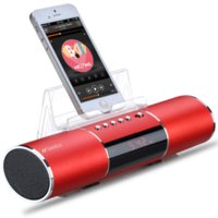 Wholesale SANSUI E15 Wireless Bluetooth Speaker MP3 Player mAh LI Battery Support TF Card U Disk Player Mini Speaker For Laptop Iphone