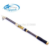 Wholesale Top Quanlity Telescopic Surf Casting Reel Rod Spinning Fly Fishing Pole Carp Fishing Stick Boat Rock Fishing Rod