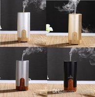Wholesale 6pcs ml Car Air Humidifier Difusor De hotel Aroma Diffuser USB Ultrasonic Humidifier Essential Oil Diffuser Mist Maker Fogger