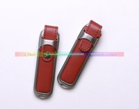 Wholesale Hot leather cover case USB GB USB Thumbdrives Memory Stick Flash USB Flash Pen Drives micro_disk