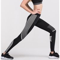 Wholesale New Arrival Women Printed Yoga Wear Sports Long Pants Running Gym Leggings Cycling Jersey