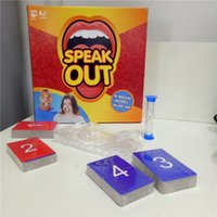 Wholesale Speak Out Game Amusement Toys Party Board Game Novelty Games Ridiculous Mouthpiece Challenge Game Friends and Family KTV Games