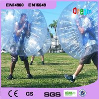 Wholesale 2016 m Inflatable bubble soccer ball human hamster ball bumper ball zorbing ball