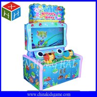 Wholesale Redemption game Popular Game center Catch fish game charming appearance two players battle arade coin operate game machine