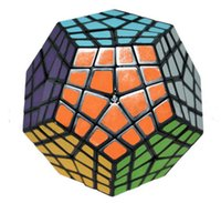 best megaminx - Magic Cube challenge gift best toys Puzzle cube Educational toys black four and five layers megaminx strange shape Fisher Cube