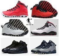 Wholesale Cheap Air Mens Retro X Basketball Shoes Bulls Over Broadway Retros Sports Shoes Training Boots s Running Shoes Trainers