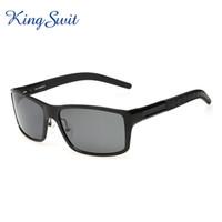 aluminium magnesium - KingSwit Luxury Rectangle Sunglasses Men Polarized Sun Glasses Aluminium Magnesium Glasses Goggles Gafas KS239