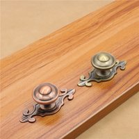 Wholesale Antique Bronze Zinc Alloy Kitchen Cupboard Door Cabinet Knob Single Hole Drawer Furniture Wardrobe Pull Handles