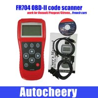 american transmissions - FR704 OBDII Scan Tool auto diagnostic tool work for Reads Engine A T Transmission for American vehicles Citroen for Peugeot for Renault