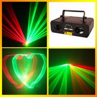 Wholesale HT mw red green Laser Light Projector Stage Lighting red green Laser DJ Party Stage Light Disco Dance Floor Laser Light Show