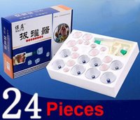 Wholesale 24 Can Massager Health Monitors Products Can Opener Pull Vacuum Cupping Massage Cupping BanksTanks Set Extractor Acupuncture