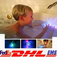 bath tub kids - LED Bath Toy Party In The Tub Light Waterproof Luminous Toy Bath Water LED Light Kids Waterproof Children Funny Time XL X24