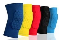 Wholesale basketball Cellular kneepad crash Sports Safety Elbow male lengthened Leggings Calf riding Soccer Equipment