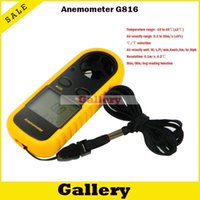 anemometer usb - Usb Tester Tacometro Digital Hot Sale New Tachometer Rpm Anemometro Digital Anemometer Wind Gm816 Level Display