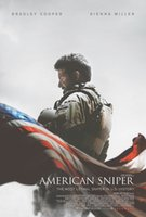 american history prints - 0149 New American Sniper Bradley Cooper History Movie Art Silk Poster x36inch