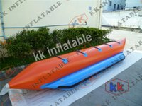 aqua sports boats - Rent Aqua Sports Durable PVC Water Rider Banana Inflatable Boat Adult water floating boat With Single Tube