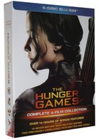 Wholesale 1pc Dropshipping DVD The Hunger Games Complete Film Collection Blu ray blue ray dvds movies by ePakcet fast