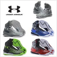 Wholesale Under Armour UA Carry Basketball Shoes Cheap High Cut Classic Sneakers High Quality Outdoor Classic Size