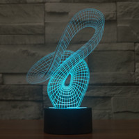 amazing bird - Mystery D Amazing Caged Bird Optical Illusion Desk Lamp Colors Change Touch Switch LED Table Lamp Children s Night Light for Home Decora