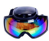 Wholesale HD p Ski Sport Goggles Glasses Camera MP CMOS DVR Anti fog Snow Skiing Eyewear Mini DV Sunglasses Video Recorder Camcorder GIFT