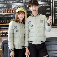 Wholesale Sweethearts Outfit Cotton padded Clothes The New Winter Cultivate One s Morality Short Jacket Down Cotton padded Jacket