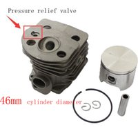 Wholesale piston and cylinder assembly New mm Cylinder Piston Kits Craftmans for Husqvarna Chainsaw parts