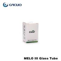 Acheter Eleaf melo-Tube en verre de rechange Eleaf pour Melo III Mini Atomizer Tube en verre Pyrex original 100% pour Melo 3 Mini