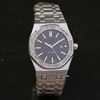 ap logo - Ap Luxury Brand New Men s Wristwatch Automatic date Royal Oak Offshore Full Stainless Steel With Logo