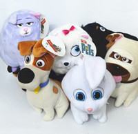 baby pet mice - The Secret Life of Pets Cartoon cm Dog Cat Mike Snowball Plush Toys Doll for Kids Baby Christmas Doll Gift K7662
