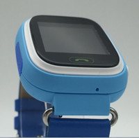 belt finder - 2016 Smart Kid Safe GPS Watch Wristwatch SOS Call Finder Locator Tracker for Child Anti Lost Monitor Baby Gift Q60 Belt strap