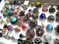 Wholesale bulk mixed women s fashion metal alloy rhinestone cz Jewelry Rings brand new