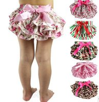 Wholesale 2016 Hot Selling Baby Bloomers PP Stain Pants Girls Pettiskirt Infant Newborn Underwear Kids ruffled pants D
