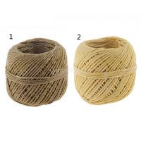 Wholesale Organic Hemp Wick with Natural Beeswax Coating Candle Wick DIY Feet Colors