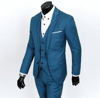 best business casual pants - Men Business Casual Suit Jacket Pants Vest Formal Groom Wedding Dinner Suit Mens Suits Groom Tuxedos best Man groom Dress
