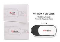 Wholesale 1pcs Hotsale Virtual Reality D Glasses VR BOX Version VR CASE RK3PLUS With Remote Controller