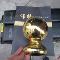 Wholesale Gold color stainless steel ball seat welding ball holder hollow decorative ball gold and silver stainless steel decoration ball seat