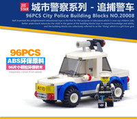 Wholesale City Police Series Building Blocks Police Minifigures Car Motorcycle Blocks Assembled Toys for children gift