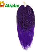Wholesale Aliabc Fiber Wave quot Synthetic Hair Extensions Havana purpose Twist Crochet Jumbo Braiding Hair Weaving Curlystyle g