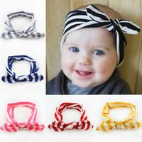 baby milk band - Baby Girls Big Headbands Milk Silk Kids Cute Bowknot Hair Band Infant Lovely Headwrap Children Bowknot Elastic Accessories