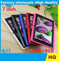 best selling webcams - 7 quot Q88 A33 quad Camera inch tablet pc android better Best Selling Discounted Newest retail packaging