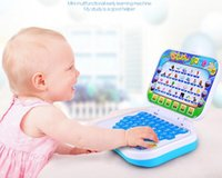 Wholesale Christmas gift Children learning machine Preschool Toys English cartoon folding mini multifunction computer reading machine educational toys