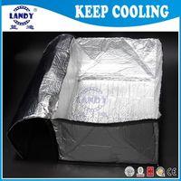 alluminium foil - Thermal insulation material waterproof Transport heat preservation bag high quality bubble alluminium foil insulation Food use bag
