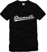Wholesale Dreamville J COLE skateboard streetwear Printed Mens Men T Shirt Tshirt Fashion New Short Sleeve O Neck Cotton T shirt Tee